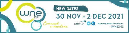 Come to see us at the World Nuclear Exhibition 2021 (WNE)